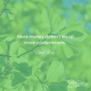"5 Ways to Ease Your Mind When Money is Stressing You Out – ""More money doesn't equal more contentment."""