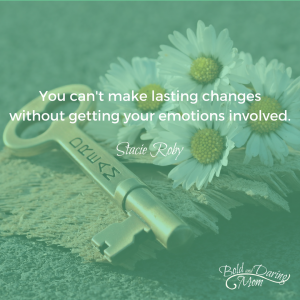 You can't make lasting changes without getting your emotions involved. - How to Create a Monthly Household Budget, printable budget, budget worksheet, finance binder, family budget, budget planner